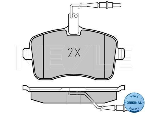 DP1549 EBC Ultimax Front Brake Pads fit PEUGEOT 407 407 Coupe