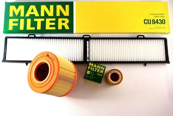 Mann Cabin Filter Carbon Pollen Filtration Fit BMW 3 Series E90 2005-2011