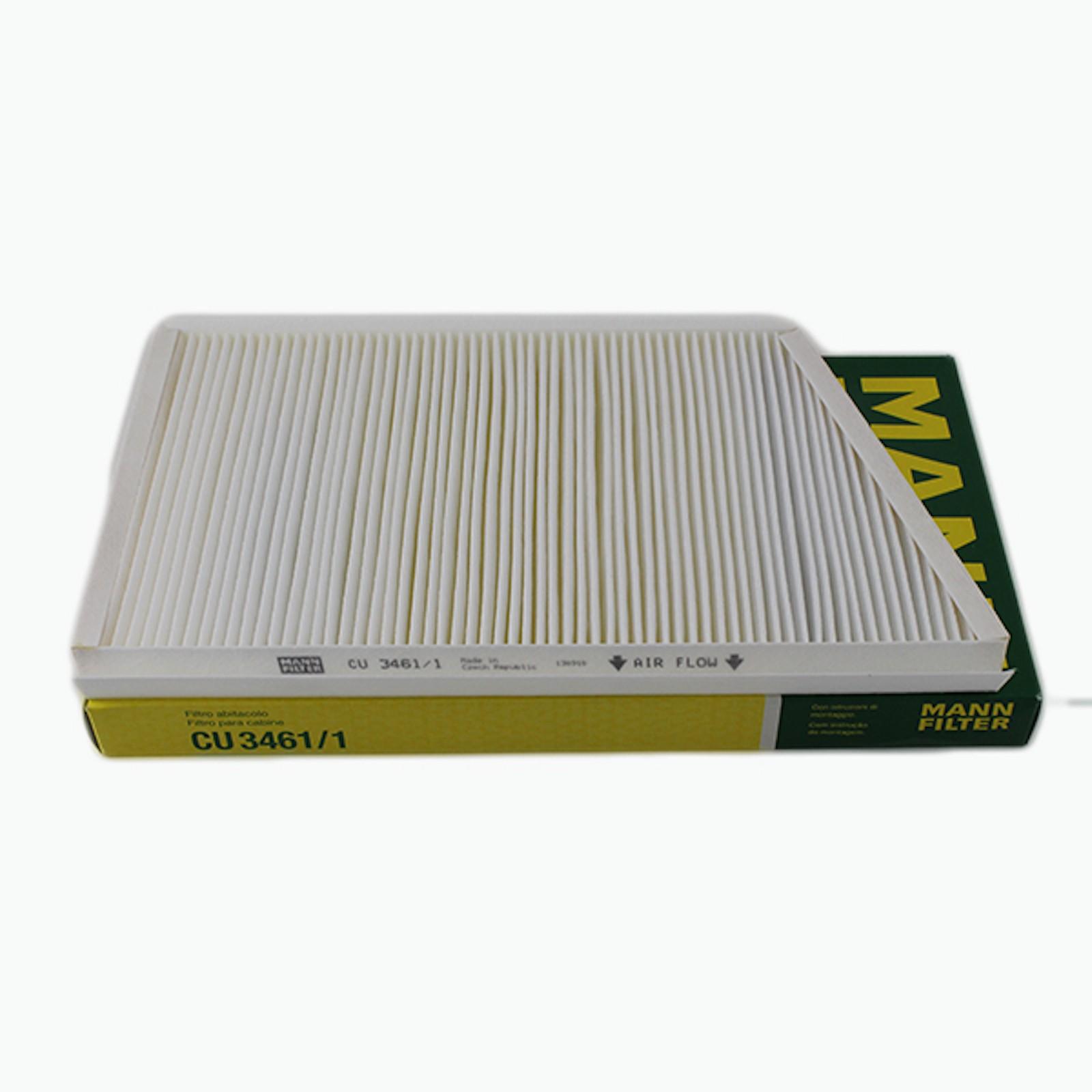 Pack of 2 CU 3461 Mann Cabin Filter W203 W209 CU3461