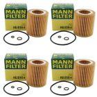 Mann Oil Filter HU816x 4 Pack