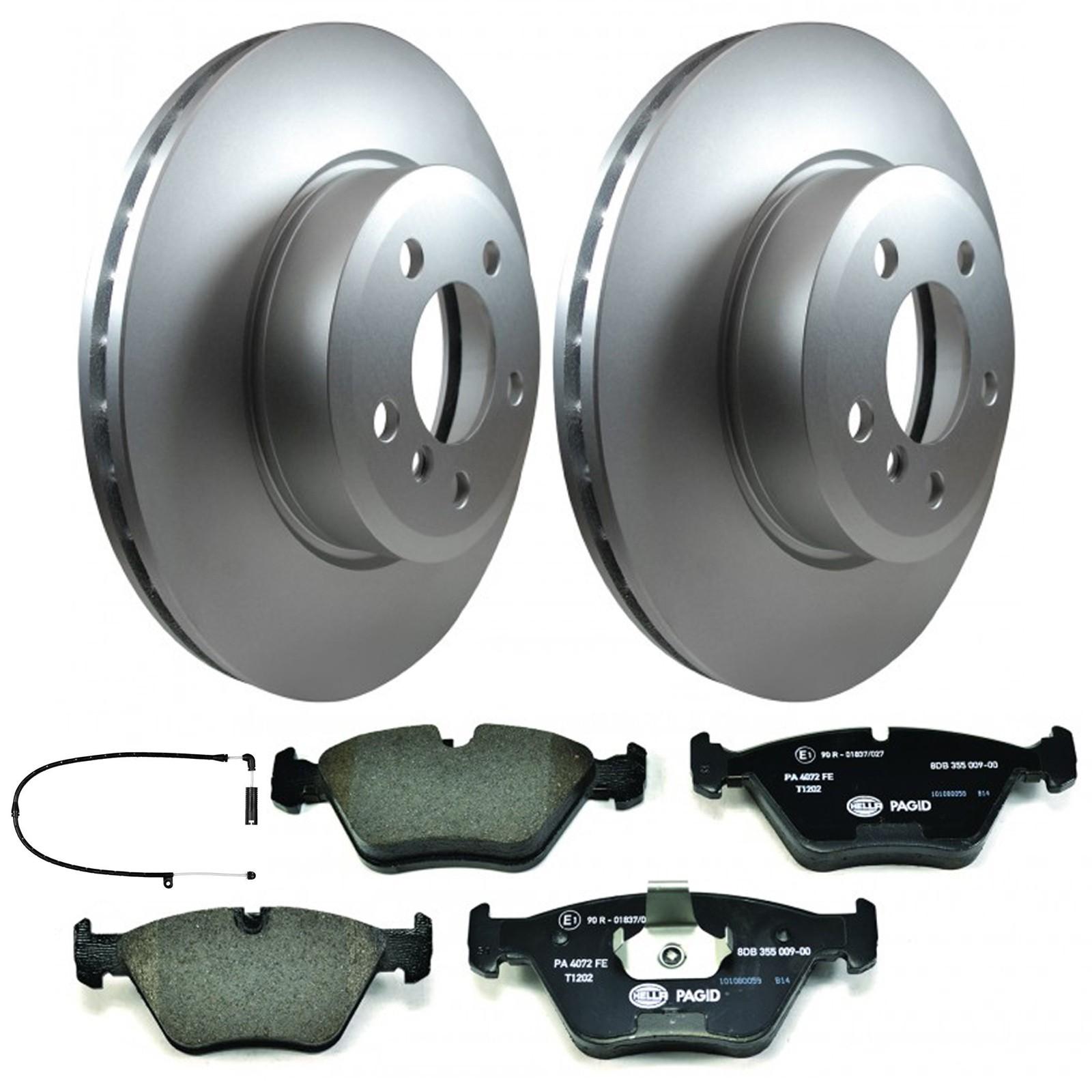 Fits BMW 3 Series E46 2.0 Petrol Pagid Front Brake Kit 2x Disc 1x Pad Set