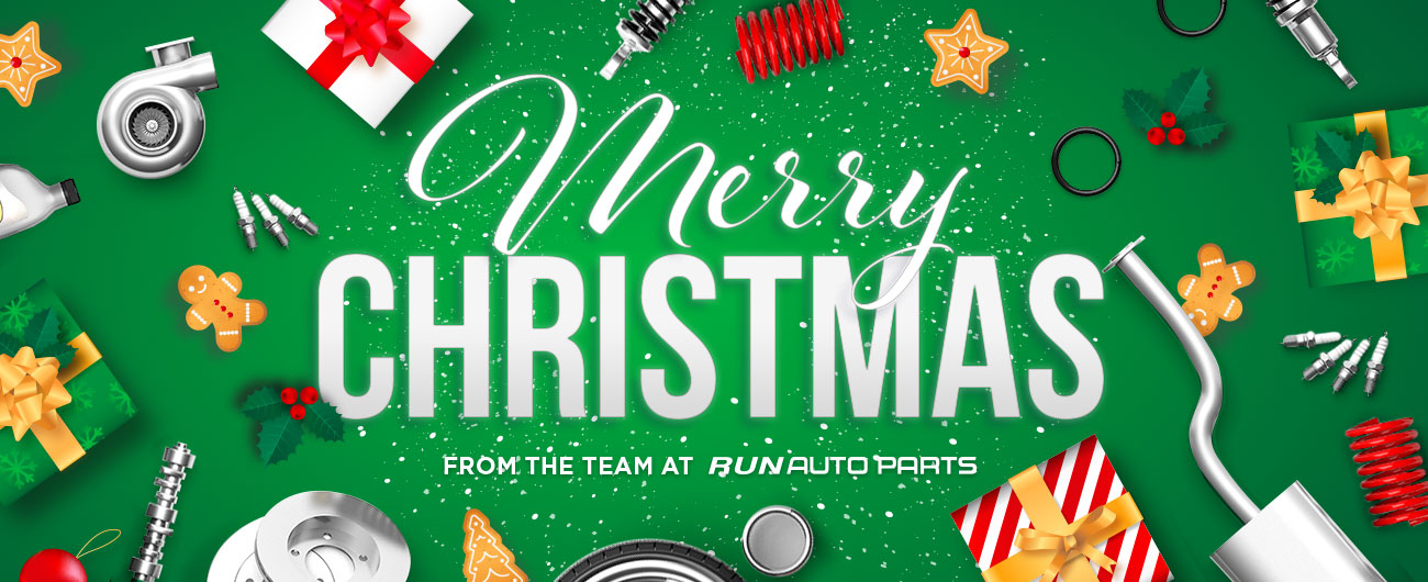 Merry Christmas, From Run Auto Parts