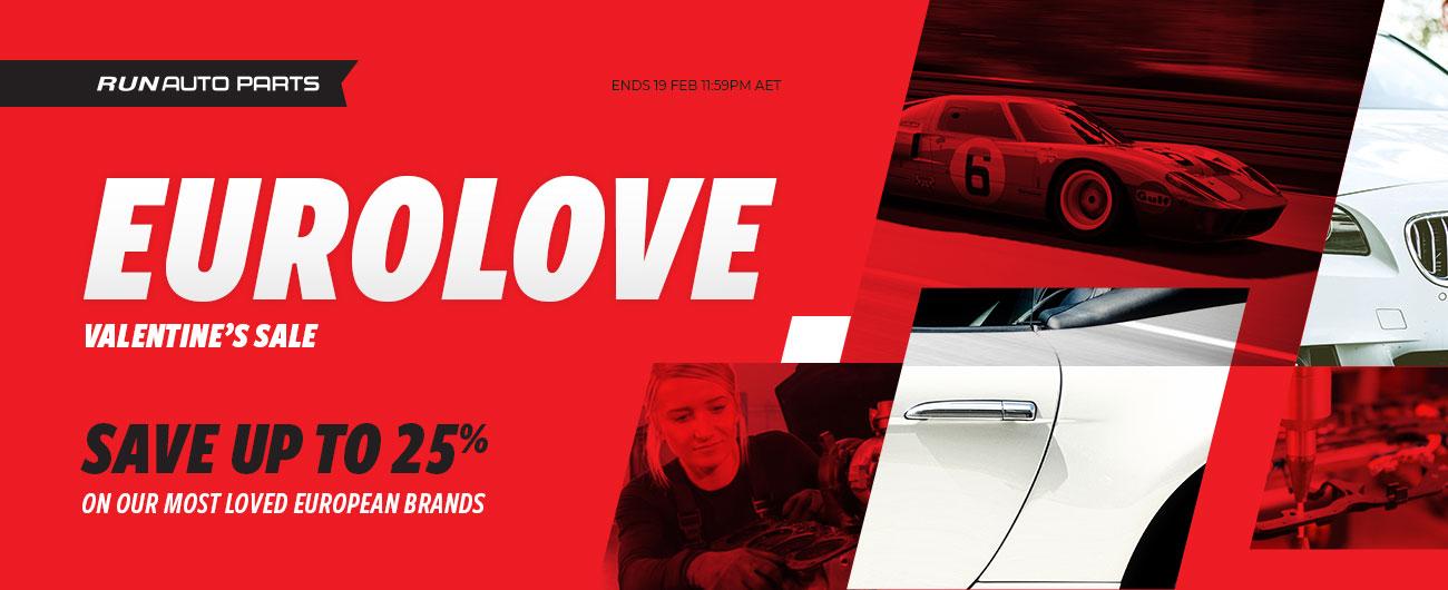 Valentines Day Sale Run Auto Parts